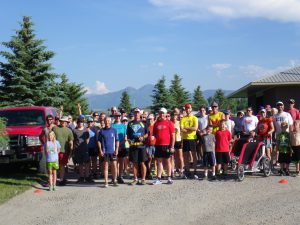 Big Sky Wind fun run @ East Gallatin Recreation area
