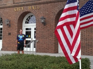 City Hall and Walk of Flags 8-7-14