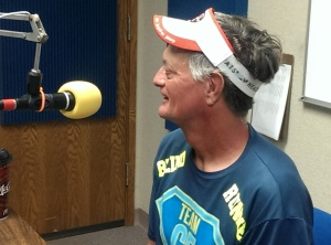 On Air in Fergus Falls 8-6-14